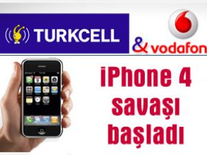Vodafone ve Turkcell'in iPhone 4 savaşı