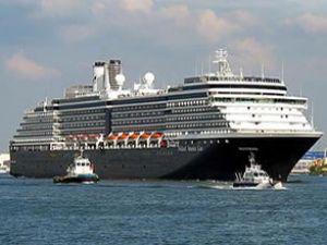 İskenderun Limanı dev gemiyi ağırlıyor