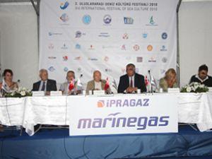 Festivalde, Deniz Kültürü Paneli yapıldı