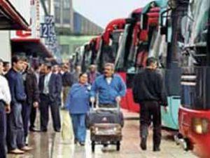 549 otobüs işçisinin 453'ü kayıt dışı