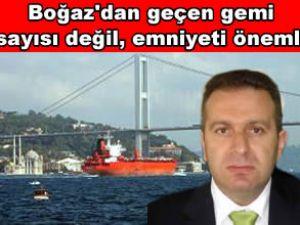 Orakcı: İstanbul Boğazı'nın kapasitesi doldu