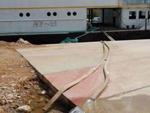 İnkılap gemisinde çalışmalara başlandı