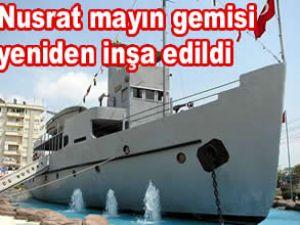 Nusrat, müze gemi olarak sefere çıkacak