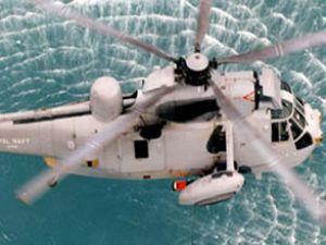 Yardım helikopteri Munchar Gölü'ne düştü
