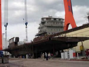 Gestaş'ın yeni gemilerinin inşası sürüyor