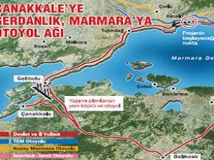 Marmara'nın yeni otoyol ağı belli oldu
