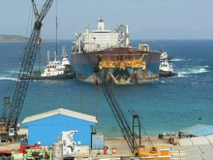 Japon deniz filosu Aliağa'da sökülebilir