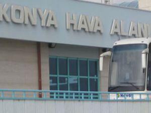 Konya Havalimanı'nda büyütme çalışması