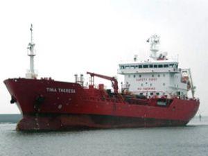 Deniz haydutları Tina Theresa'ya saldırdı