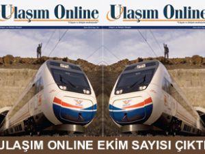"""""""Ulaşım Online""""in Ekim sayısı çıktı"""