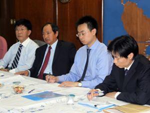 Çin heyeti, Müsteşarlığı ziyaret etti