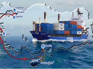 Arkas'tan, Akport Limanı'na düzenli uğrak