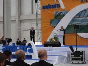 Ankara Lojistik Üssü'nün ilk etabı açıldı