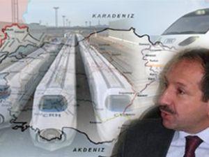 Türkiye'yi saracak yeni demiryolu ağı