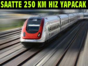 Edirne-Kars hızlı trenin geçeceği iller