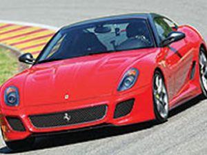 599 bin Euro'luk Ferrari İstanbul'da