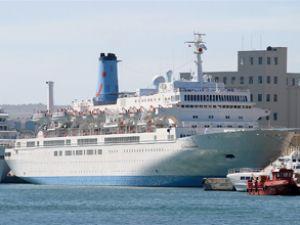 Kruvaziyer turizm Marmaris'te sürüyor