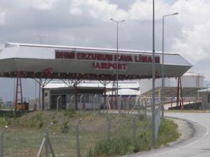 Erzurum Havaalanı pisti tamamlanıyor