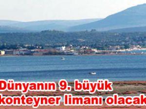 Zeytindağ'a konteyner limanı yapılacak