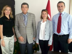 DTO'dan Liman Başkanlığı'na ziyaret