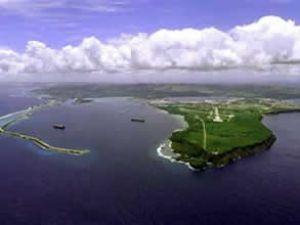 Guam'ın tek ticari limanı genişletilecek