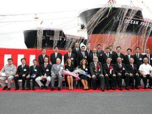 Mardaş, Ocean Future gemisini teslim aldı