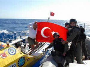 TCG Gaziantep, Türk denizcisiyle buluştu