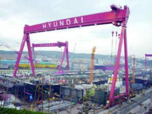 Hyundai Heavy, 721 milyon $ kar bildirdi