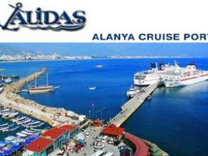 Alanya'ya gelen gemi sayısı azaldı