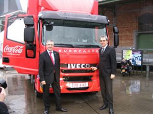 Coca Cola, Iveco Active Day'i test ediyor