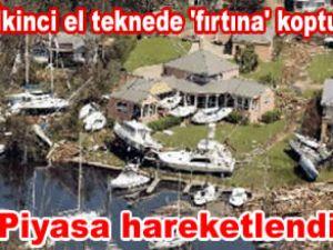Hasar gören tekneler Türkiye'de satılıyor