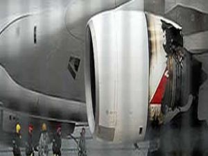 Uçaktaki sorunu kayıp parça çözecek