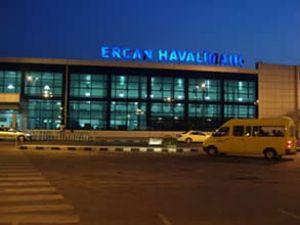 Ercan Havalimanı'nda bayram bereketi