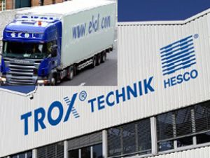 TROX Türkiye'nin tercihi Ekol Lojistik oldu
