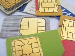 SIM kartlar telefonların içine gömülecek