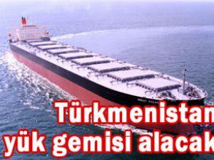 Estonya'dan Türkmenistan'a yük gemisi