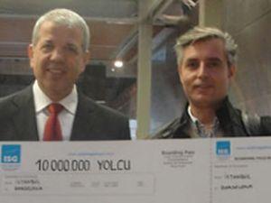 İSG, 10 milyonuncu yolcusunu uğurladı