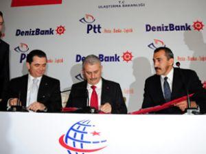 PTT ve DenizBank güçlerini birleştirdi