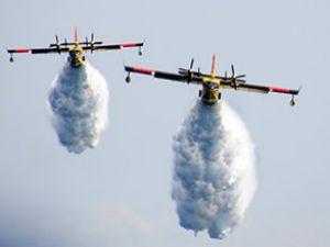 Türk yangın uçakları İsrail'e havalandı