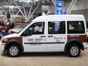 Ford Transit Connect ABD'de Taksi oldu