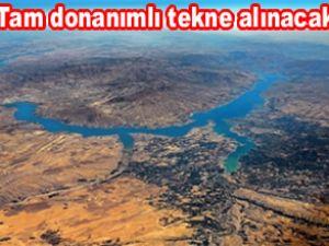Karakaya Baraj Gölü için tekne alınacak