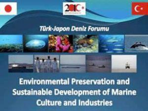 'Türk- Japon Deniz Forumu' başladı