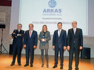 Arkas Holding'e Tofaş'tan Kalite Ödülü