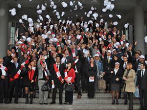 Aras Akademi, yeni mezunlarını verdi