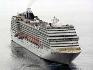 MSC Magnifica, Marmaris Limanı'na sığındı