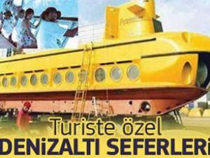 Bodrum'da turistlere özel denizaltı keyfi