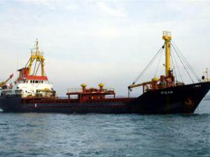 Fidan isimli Türk gemisi kurtarıldı