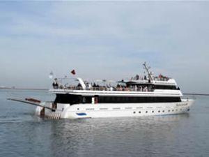 Samsunum 1 adlı gezi teknesine yoğun ilgi