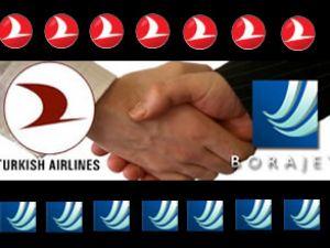 THY, Borajet'le anlaşma imzaladı