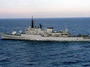 Savaş gemisi Jacoubet, AB filosuna katıldı